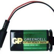 Broche de Bateria 9V con Plug DC 2.1mm
