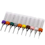 Brocas para PCB 10 piezas