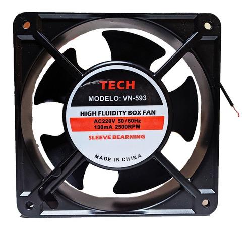 Ventilador 220v 120X120X38mm Tech