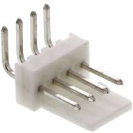 Conector Molex Macho Angulo NS25 2.54mm 2/4pin