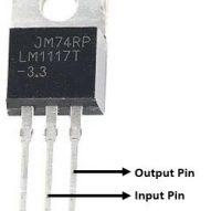 Regulador de voltaje 3.3V LM1117