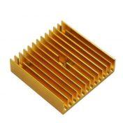 Radiador Disipador de calor de aluminio dorado
