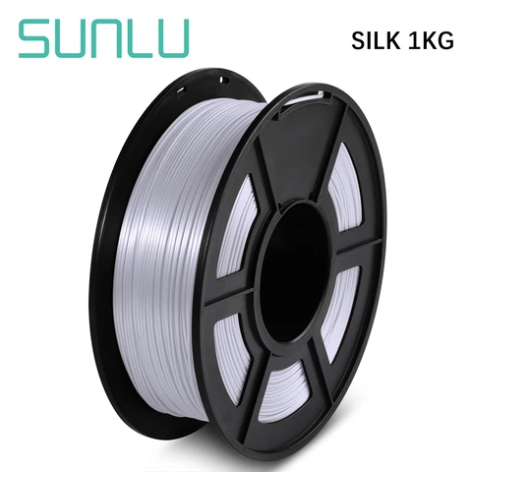 Filamento SunLu Colores Silk Pla 1.75mm