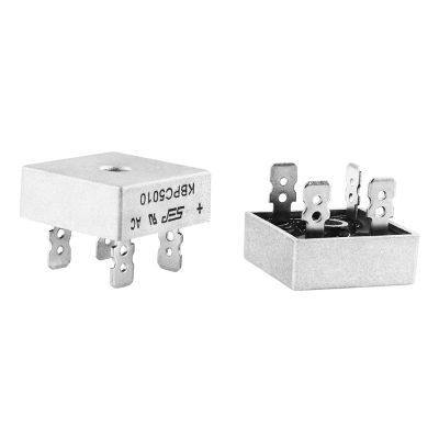 Puente rectificador de diodo KBPC5010 50A 1000V