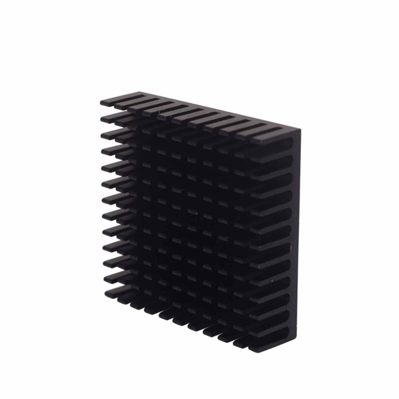Disipador de calor Aluminio Negro 40 * 40 * 11 mm