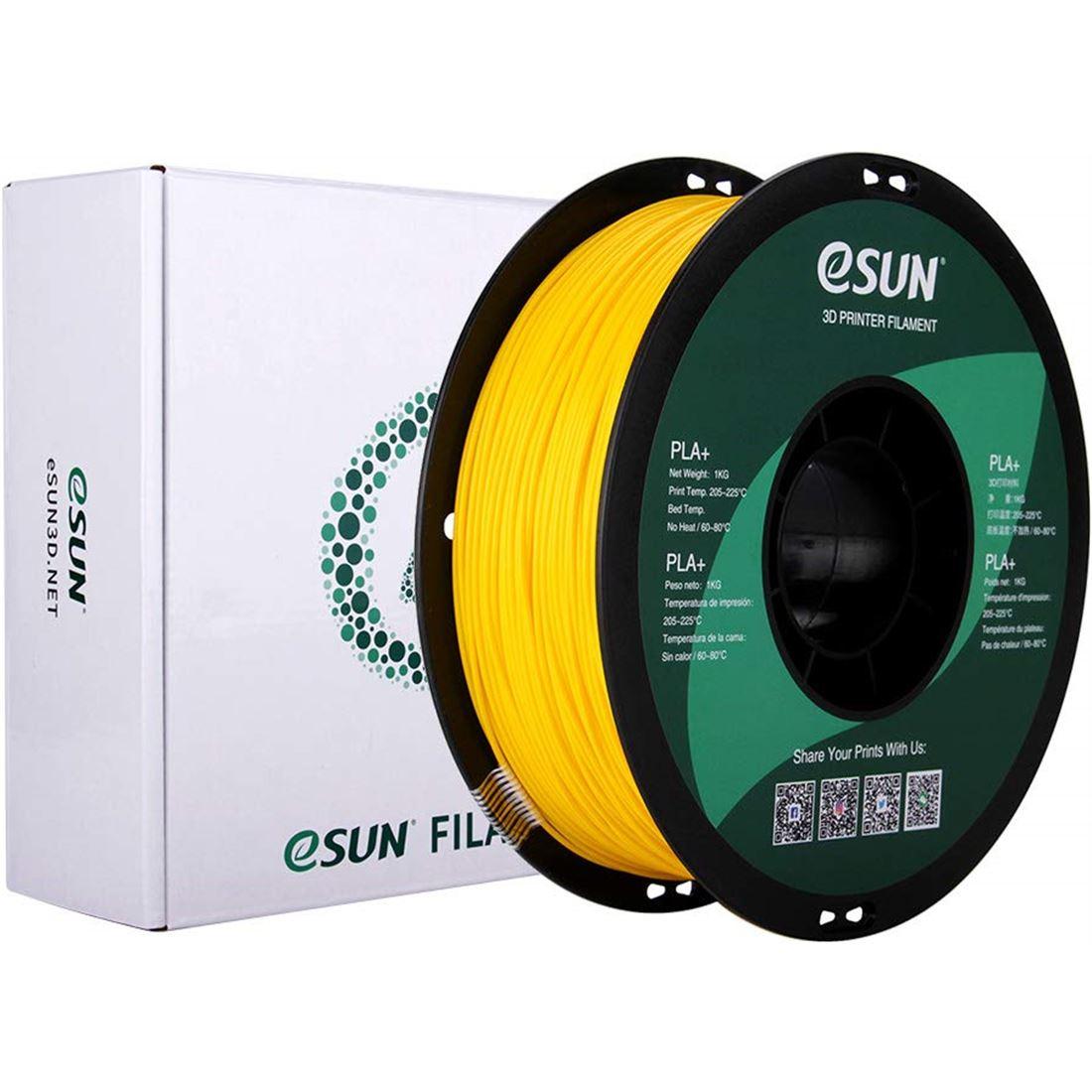 Filamento PLA+ eSun 1kg 1.75mm Colores