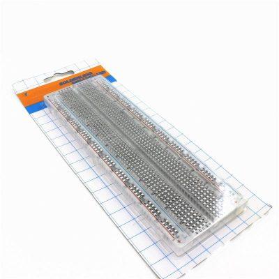 Breadboard / Protoboard 830 puntos Transparente