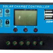 Controlador de Carga Inteligente para Panel Solar 12/24V 10A