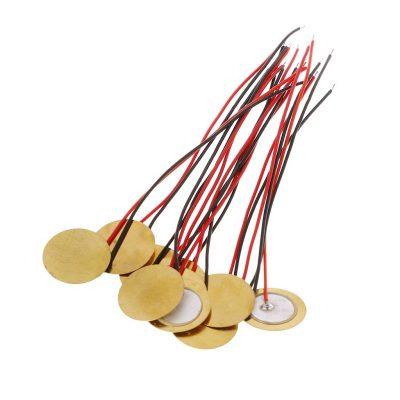 Sensor Piezoeléctrico 27mm con Cable
