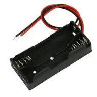 Porta Pilas 2x AAA 3V Con cable