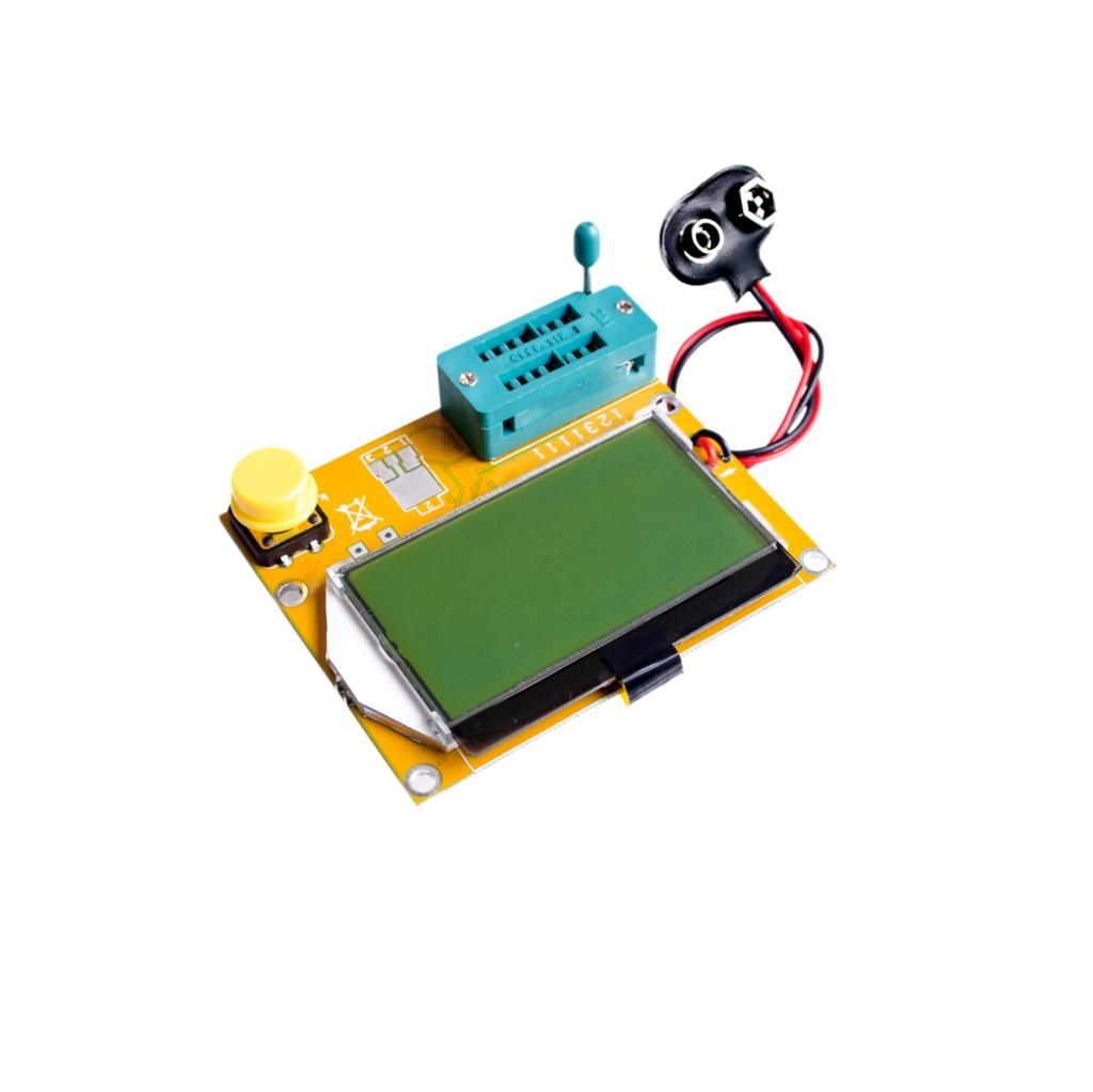 Probador de transistores led Diodo Triodo Capacitancia MOS PNP / NPN 9V