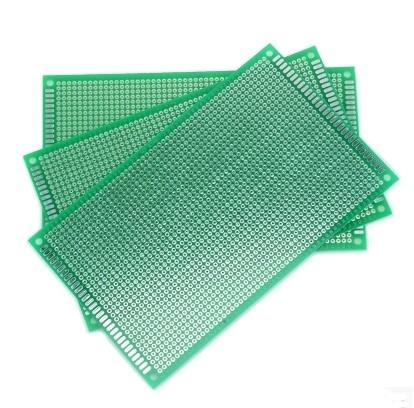 Placa PCB un lado Perforada Punto a Punto 10x15cm / 12x8cm