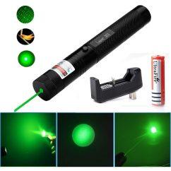 Puntero Laser Verde Astronómico Potente