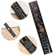 regla 20 cm electronicos